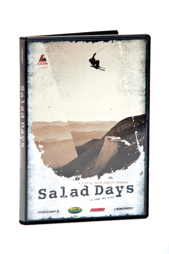 Ski salad days, noun: a time of youthful indiscretion and delinquency  What really are the salad days? TGR answers with the tightest in jib style and culture. Check it: backcountry air, cliffs, rails, urban, pipe, and more. Witness skiing's new generation experience the sessions they wish would last forever. These are the happy days, the salad days as they say, when the boys are green in judgment, cold in blood.TRT: 30 min - $9.95