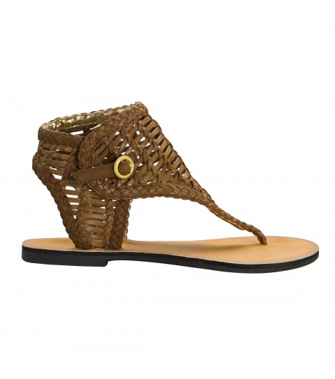 Surf The O'Neill Coronado Sandal is a woven faux leather sandal with faux leather upper; buckle entry; and custom sandal bottom out sole.  These sandals will make even Cleopatra jelly! - $39.50