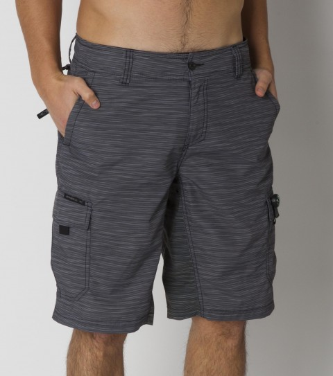Surf The O'Neill Traveler Hybrid Shorts are the go-to shorts for any surf trip; or just kickin' around town. Features antimicrobial (they wont stink even after wearing 'em for days straight!) nylon micro ripstop fabric; 21'' outseam; internal drawcord; belt loops; zipper fly; XT2 stretch compfort inseam panel; back stow pocket; hidden key and passport pocket; cargo pockets and woven O'Neill label. - $59.50