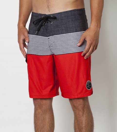 Surf O'Neill Cortez Boardshorts.  New epicstretch. 19'' outseam features engineered printed boardshort with  superfly 2.0 closure; side cargo pocket; woven patch and embroidered logos. - $33.99