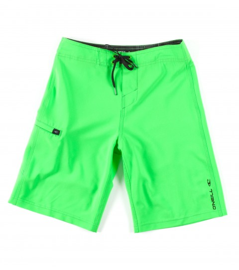 Surf O'Neill Boys Santa Cruz Stretch Boardshorts.  Epicstretch; boardshort features superfly closure; single weltside pocket; embroidery and screened logos. - $27.99