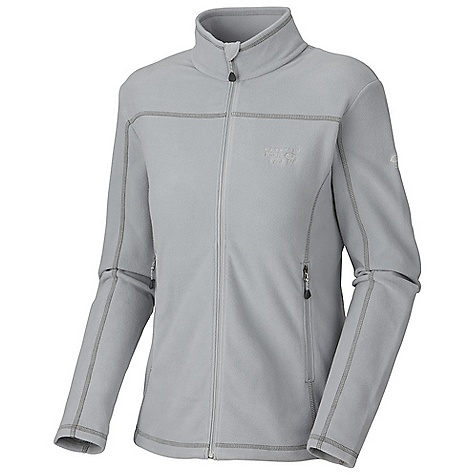 Free Shipping. Mountain Hardwear Women's MicroChill Jacket DECENT FEATURES of the Mountain Hardwear Women's MicroChill Jacket Zippered handwarmer pockets Dual hem drawcords for quick fit adjustments Micro-Chamois-lined chin guard Imported The SPECS Apparel Fit: Standard Average Weight: 9.5 oz / 269 g Center Back Length: 25in. / 64 cm Body: Velous Micro Fleece (100% polyester) - $89.95