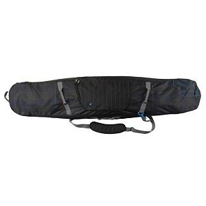 Snowboard K2 Padded 158cm Snowboard Bag 2015 - The K2 Padded Board Bag is the alternative to the roller for when carrying is the major mode of transit. Lightweight and durable 600D Construction and cush shoulder strap. Designed to protect your decks and gear without the bulk. Features internal compression straps to keep your decks and gear securely fastened so they don't move around. Features: 66x12x4. Warranty: One Year, Material: 600D Polyester, Exterior Pockets: Yes, Padded Inside: Fully, Size Dimensions: 66in x 12in x 4in, ID Tag: Yes, Max Board Size: 158cm, Degree of Padding: Heavy, Model Year: 2015, Product ID: 281836, Shipping Restriction: This item is not available for shipment outside of the United States., Model Number: B121200201158, GTIN: 0886745029014 - $59.95