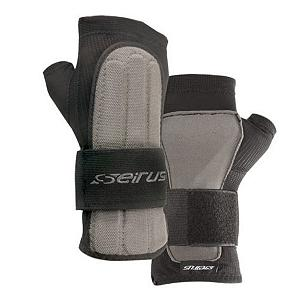 Snowboard Now you can be comfortable with this Jam Master Exo wrist guard wrist support while you are out having fun, enjoying the outside, or just hanging with friends. You can also be secretive because this wrist guard fits under any glove and ensures advanced palm and wrist support. You will have the support without all of the attention or the fuss. Made of super thin mesh for breathability, the Jam Master Exo has a wide 360 degree one-handed elastic cinch to secure it comfortably to your hand and wrist. It also included a technically advanced polymer palm and wrist supports.  One handed cinch cuff,  Elastic cinch secures protection comfortably,  Technically advanced polymer palm and wrist supports,  GTIN: 0090897152012, Model Number: 5660.0.0011, Product ID: 146908, Model Year: 2014 - $29.95