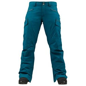 Snowboard Burton Lucky Womens Snowboard Pants - Will regardless if your first chair on the mountain or last chair of the evening, the Burton Lucky Pant is going keep you covered from start to finish. Mother Natures cruel tendencies are no match for the 2 layered Twill fabric if Dryride Durashell waterproof and breathability of 10,000mm and 10,000g. You'll have a micro-porous coating applied directly to the backside of the DWR-Finished outer fabric providing waterproof/breathable performance. Internal Taffeta Lining provides a shell feel with a dash of warmth to keep your legs ready to ride in the coldest conditions. The Burton Lucky pant fits loose without feeling baggy, also has adjustability in the hips. The Burton Lucky pant will bring you great things including maybe a little luck on your side. . Exterior Material: Dry ride Duracell, Softshell: No, Insulation Weight: N/A, Taped Seams: Critically Taped, Waterproof Rating: 10,000mm, Breathability Rating: 10,000g, Full Zip Sides: No, Thigh Zip Venting: Yes, Suspenders: None, Bearing Grade: Performance, Articulated Knee: No, Low Rise: Yes, Warranty: One Year, Race: No, Waterproof: Moderately Waterproof (5000mm-19,999mm), Breathability: High Breathability (9000g-15,000g), Use: Snowboard, Type: Shell, Cut: Regular, Lining Material: Taffeta Lining, Waist: Adjustable, Pockets: 3-4, Model Year: 2013, Product ID: 289312, Shipping Restriction: This item is not available for shipment outside of the United States., Model Number: 276517-311XS, GTIN: 0886057869186 - $89.91