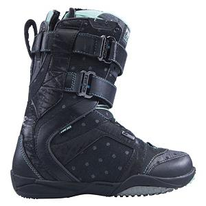 Snowboard Ride Locket Womens Snowboard Boots - The Ride Locket snowboard boots are designed for enhanced freestyle chic. A boot designed to master freestyle maneuvers, the new Locket is compact, light, and flexy, with a unique sneaker style. Sporting the Strapper Zonal Lacing that features a speed lace down low for a quick secure closure and Velcro up top for maximum adjustability and mobility. Ideal for tweaks and rails, lock into these hot new kicks and show your goods. The Locket boots from Ride are the hottest new kicks around. Pop, Locket, drop it. PURPLE COLORWAY is an artist collaboration and includes a stash pack. Features: Stash Pack ONLY INCLUDED WITH PURPLE COLORWAY. Material: Intuition Mobile Foam Liner Technology, w/ Aegis Antimicrobial Coating, Lacing Style: Quick Lace, Snowboard Best Use: Freestyle, Removable Liner: Yes, Flex: Medium, Warranty: One Year, Intuition Liner: Yes, Brand Lacing Style: Strapper Zonal Lacing with Velcro Cuff Wrap, Skill Range: Intermediate - Advanced, Model Year: 2012, Product ID: 234344, Shipping Restriction: This item is not available for shipment outside of the United States., Gender: Womens, Skill Level: Intermediate, Model Number: R11420070, GTIN: 0714636810116 - $49.92