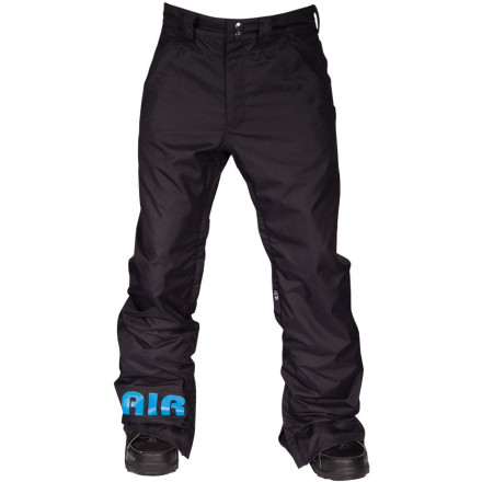 Snowboard Having to choose between baggy pants and girl pants shouldn't be your only optionand it's not, thanks to the Airblaster Freedom Boot Pant. The Freedom Boot Pant features a boot-cut fit that's roomy enough to layer while still having a touch of classy taper. Pair that with taped critical seams, 10K waterproofing, and Airblaster embroidery, and you've got yourself one heck of a pant there, Mister! - $76.48