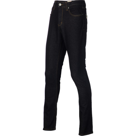 The Altamont Imperial Denim Pant features a comfortably high rise, tapering down to a slim ankle for a modern look without feeling restrictive. - $30.77