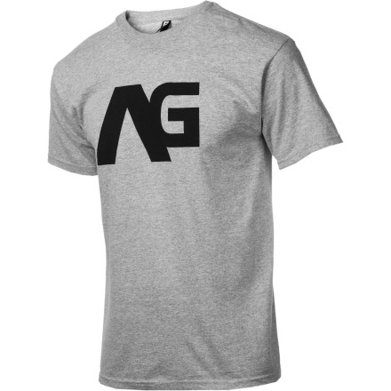 The AG Icon T-Shirt offers classic Analog style in a mega-soft ringspun cotton fabric that's 100% guaranteed to be more comfortable than wearing a rabid weasel on your torso. - $14.27