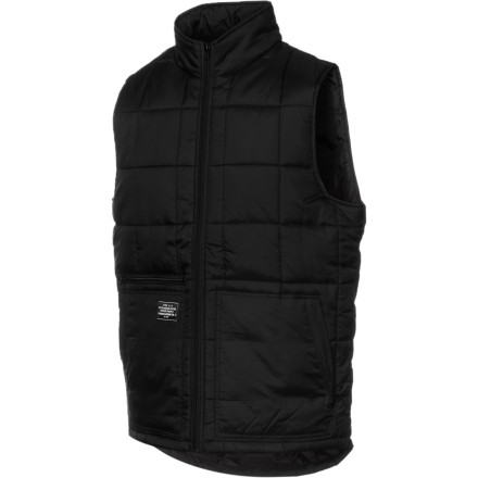Whether you need an insulating layer under your shell for cold pow days, or something to throw over your hoody when you're lapping the park on a chilly morning, the Analog Investment ATF Vest will keep you toasty. 180g insulation keeps your core warm without overheating the rest of you, and a DWR treatment makes it water-resistant so you can rock it on the outside without it getting soaked. - $41.22