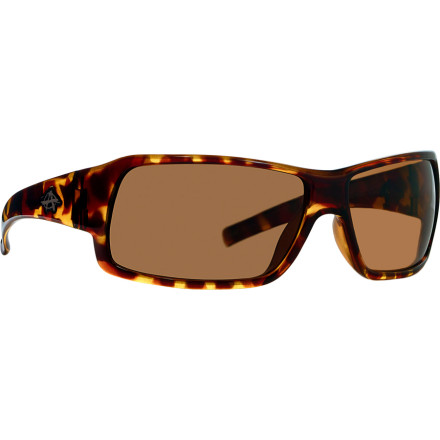 Entertainment The Anarchy Transfer Polarized Sunglasses eliminate glare from reflective surfaces to keep you calm and collected while you make the drop. Once the drop is complete, you can roll away in smooth, understated style, thanks to these shades sleek design. - $35.72
