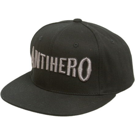 Skateboard The Anti-Hero It's the Wood Hat has a title that most likely alludes to the awesome wood they use in their skateboards, but we have been wrong before. - $15.57