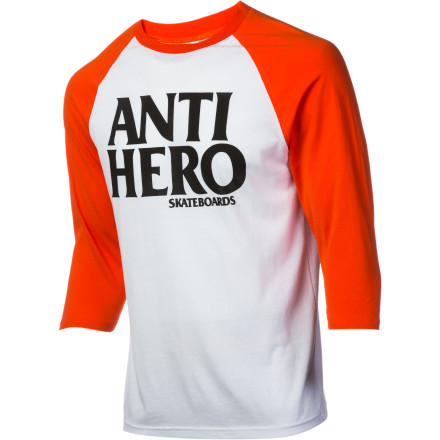 Perhaps making your superhero outfit out of used tires wasn't the greatest or most comfortable decision. Next time you're duking it out with your arch-nemesis, just stick with the Anti-Hero Black Hero Jersey Shirt. - $17.33