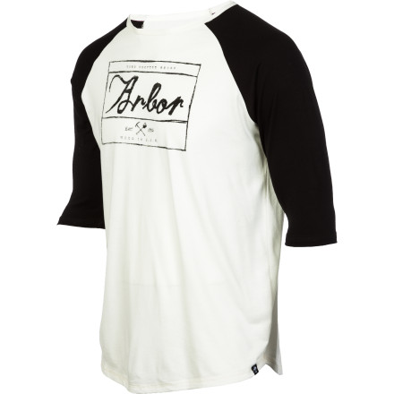 The Arbor Durham 3/4 Sleeve T-shirt will never break up with you. It will never tell you that you did a crap job. It won't lie to you, steal from you, or try to make you feel bad. It will never say 'no' to you. And when you wear it you can use your best commentator voice to give a play-by-play of your game-winning, make-believe homerun. - $22.77