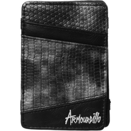 Entertainment Before you go and get a cobra tattooed onto your arm, why don't you pick up the Snake Flip Wallet from Armourdillo and try it out It won't look the same as a tatt, but it might fade and get a bit wrinkly like on. - $10.77