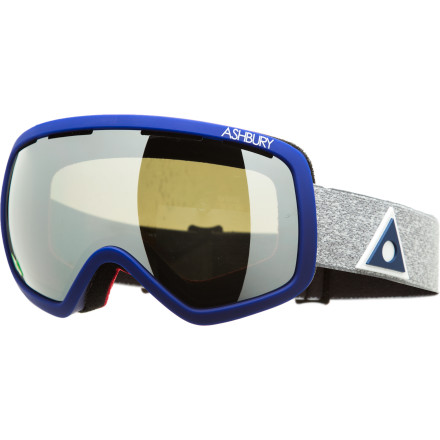Ski A leader has emerged within Ashbury's lineup and it is the all-new Bullet Goggle. The Bullet Goggle represents Ashbury's first foray into the oversized spherical style and results in nothing but a direct hit for style and clarity. Like all other Ashbury frames, comfort is a must and style comes easy. - $91.96