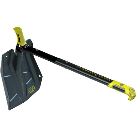 Snowboard Whether you're brrraaaapppp, braaappppping on your snow machine, skinning up the track, or rappelling into a couloir, the Backcountry Access Dozer Hoe Shovel with D2 EXT Blade digs like no other thanks to its hoe shovel design that easily converts into a traditional shovel. - $67.92