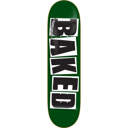 Skateboard There's no need to spell out what the boys at Baker like to do ... you probably do it, too. But, in case you're wondering, it's spelled out on the bottom of the Baker Baked Skate Deck. - $44.96