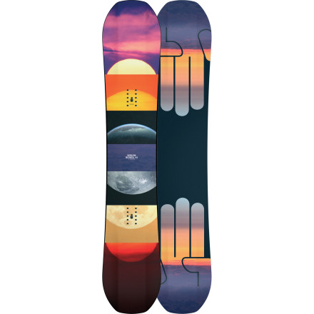 Snowboard The Bataleon Women's Distortia Snowboard isn't some dumbed-down, wussied-out version of a men's board. The Distortia is a serious park weapon built to humiliate your unsuspecting victims regardless of their sex, height, weight, age, or religionthe Distortia does not discriminate. A super-light, freestyle-flex poplar core, extra-wide binding inserts, and Bataleon's revolutionary 3D Triple Base Technology all spell big trouble for anyone foolish enough to get in your way. - $279.96
