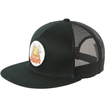Surf Put on the Billabong Andy Davis Beer Garden Trucker Hat and dream of a place where frosty steins grow on vines and the surf is never choppy. - $11.78
