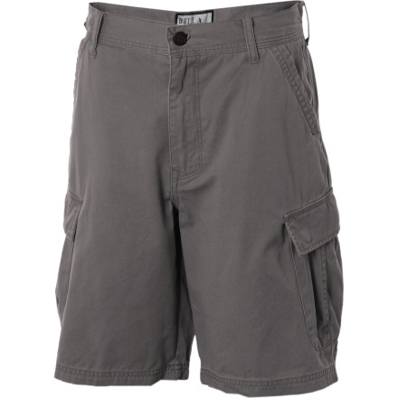 Surf Your parents may not always be cool, but you should thank them for the Billabong Boys' Transmit Cargo Short for a few reasons. First, the Transmit short has everyday styling for school, but the fact that it's from Billabong reminds you of your weekend surf plans. Second, the cargo pockets are big enough to hold that expensive computer (some call it a phone) your rents got you that allows you to transmit messages to your bros when hangin' out isn't an option. - $31.56