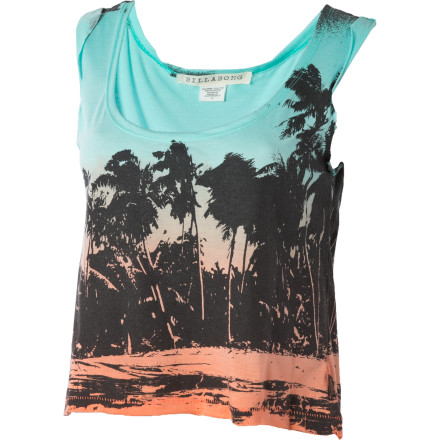 Surf The world is your stage, and the Billabong Not For You Tank Top is the wardrobe piece that will wow your audience, critics and fans alike. The Not For You features an artsy print and a show-stopping cropped length. - $14.73