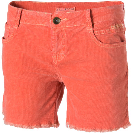 Entertainment Show off your summer tan in the Billabong Women's Valley Low Shorts. These sassy little cutoffs give you a versatile look that is great for hanging out on the deck or even nights out if you add your dancing shoes and some attitude-enhancing jewelry. - $38.36