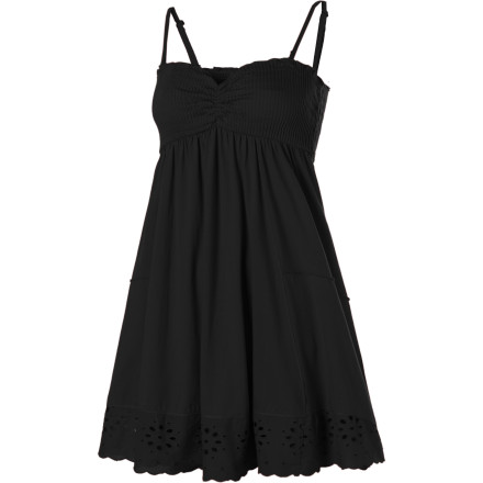 Entertainment Crank up the casualocity in the Billabong Turn It Up Dress. Use this carefree-meets-fabulous summer dress to frolic in the breeze or bring admirers to their knees. - $30.77