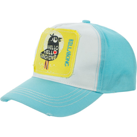 Surf Billabong Be My Friend Baseball Hat - Girls' - $10.77