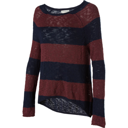 Surf Fall may turn the leaves into a confetti of colors, but it also cools down your strolls through the park. Slip on the Billabong Women's Lucana Sweater and enjoy the bright autumn walks without the shivers. - $27.23
