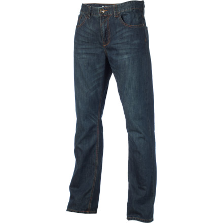 Surf Nothing fits like an old pair of blue jeans. Except maybe a new pair of Billabong Rexford Denim Pants. Rexford Denims are soft and comfortable, thanks to their 100% cotton denim fabric and regular fit. And you want versatile Fuggedabaddit! - $48.34