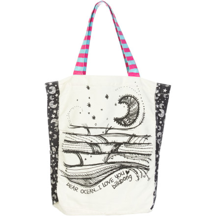 Surf Whether you're about to head to dance class, a sleepover party, or piano lessons, stash everything you need in the Billabong Girls' Tote Along Totebag. - $17.67