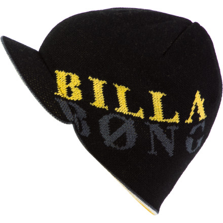 Surf Throw on the Billabong Men's Bandit Visor Beanie before you and the fellas head to the local old folk's home to steal your weight in tapioca. - $14.37