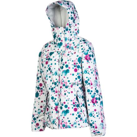 Snowboard The Billabong Women's Mist Jacket presents a simple but extraordinary style thanks to dazzling prints, richly colored solids, and uniquely textured 8K-rated coated twill face fabric that is both durable and soft. Inside the Mist, plenty of synthetic insulation bolsters warmth on cold days. - $82.48