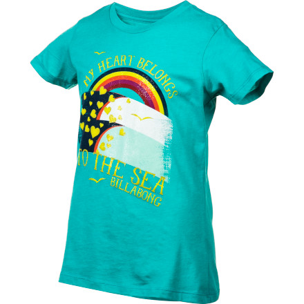 Surf Lay out the Billabong Girls' Perfect Day Short-Sleeve Shirt for her to wear and avoid the usual morning I-don't-know-what-to-wear drama. - $10.70