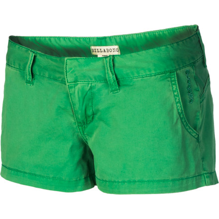 Surf The Billabong Kim Twill Walkshort features a summer-approved two-inch inseam and stretch cotton twill fabric for all-day comfort that moves with you. - $25.17