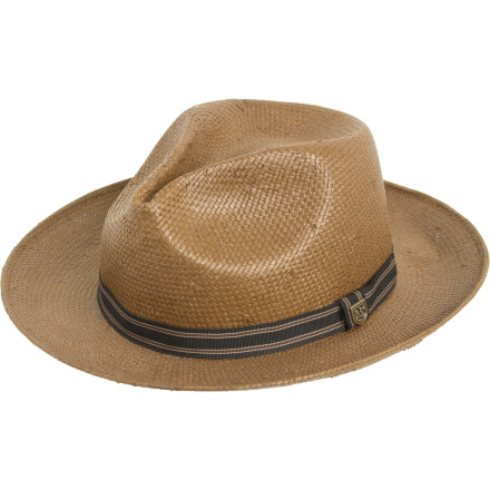 The Brixton Capistrano Hat won't automatically transform you into a ruthless, super-rich South American organized crime kingpinbut it sure can't hurt, either. - $34.96