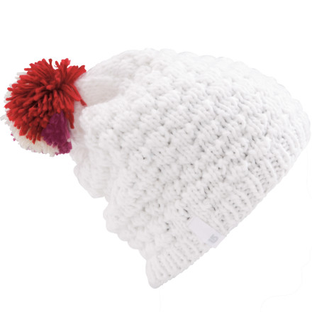 Entertainment Show your love of the pom with the Burton Women's Call You Tomorrow Beanie. This acrylic head cover-er dials in enough style and warmth to keep you cozy anywhere on the mountain. - $18.57