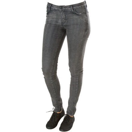 With a some quality denim, a dash of Matix branding, and a little bit of accessorizing (break out those heels, girl), you will go from smoldering to incendiary in the slim-fit, leg-lengthening Matix Vanity Fair High-Waisted Skinny Denim Pant. - $15.59