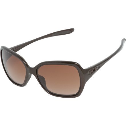 Entertainment The Oakley Overtime Sunglasses combine equal parts fashion and function. High-definition optics and a slip-free fit ensure crystal-clear vision, while a bold, oversize frame keeps you looking chic and classy. - $130.00