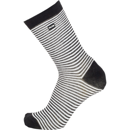 Skateboard We're not telling you to trade the tee and jeans for a suit, but we do need to tell you that the Volcom Men's Premium Dress Sock is here if you need it. Just sayin'. - $6.97