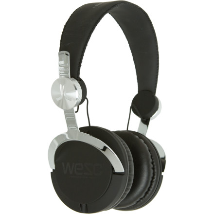 Entertainment Plug in the WeSC Bass Headphone for deep lows, epic mids, and crystal clear highs. - $96.95