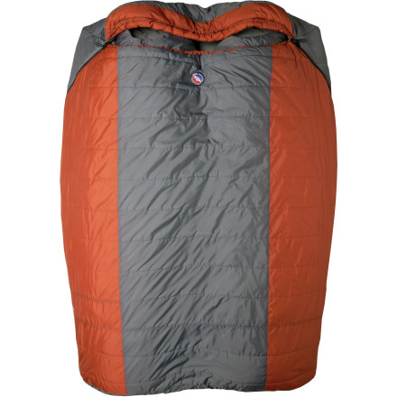 Camp and Hike Prove to your partner that sleeping together keeps you warmer when you both zip up the two-person, 15-degree synthetic Big Agnes Dream Island Sleeping Bag in a chilly tent or truck bed. Thanks to the lofty Thermolite Quallofil insulation and the integrated sleeping pad system (pad sold separately), you can pool your heat together for a comfortable night instead of relying on love and a little luck. - $219.95