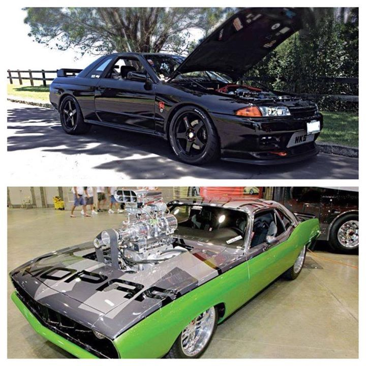 turbocharged import or supercharged big block muscle car? - thrill on