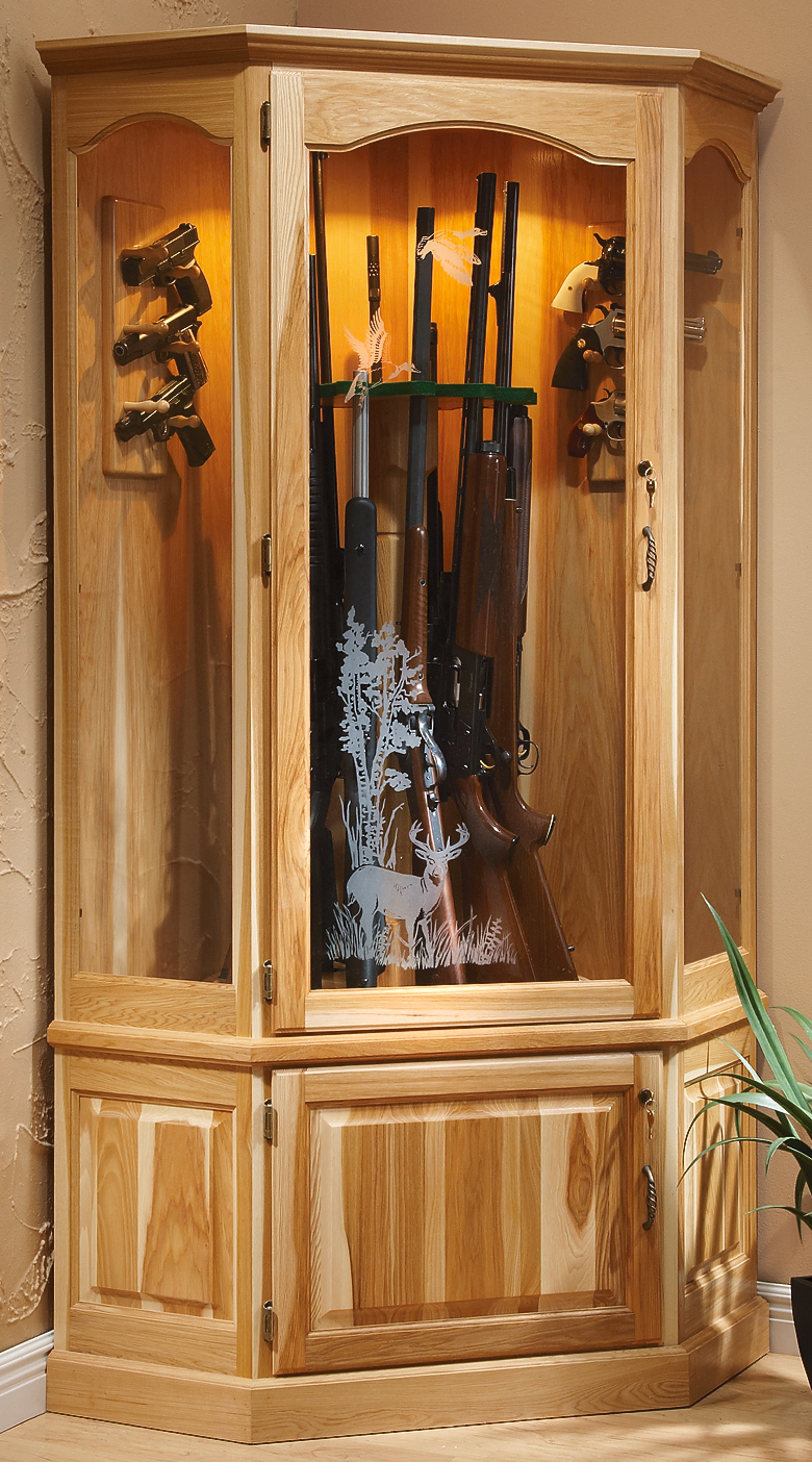 Run Off Insurance >> Supreme 12-gun Hickory Cabinet - $999.99 - Thrill On