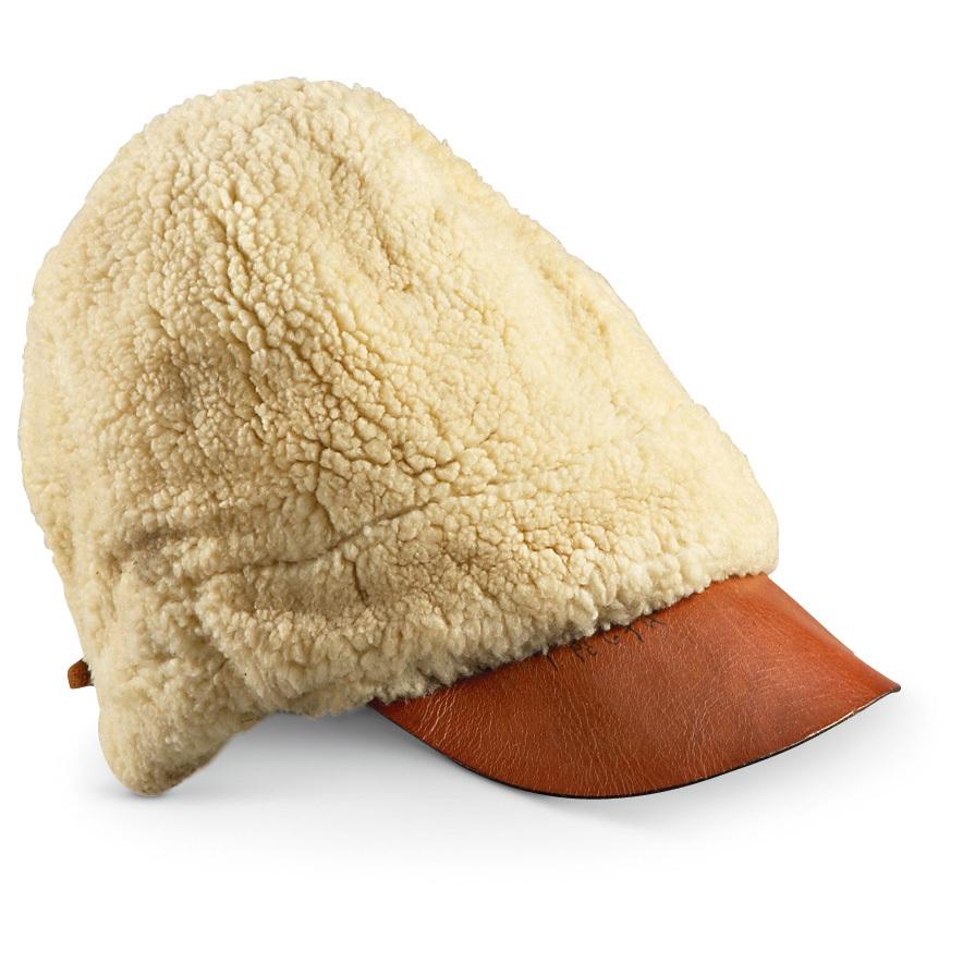 284684b9eba Used Finnish Military Surplus WWII Fleece Wool Winter Hat... - Thrill On