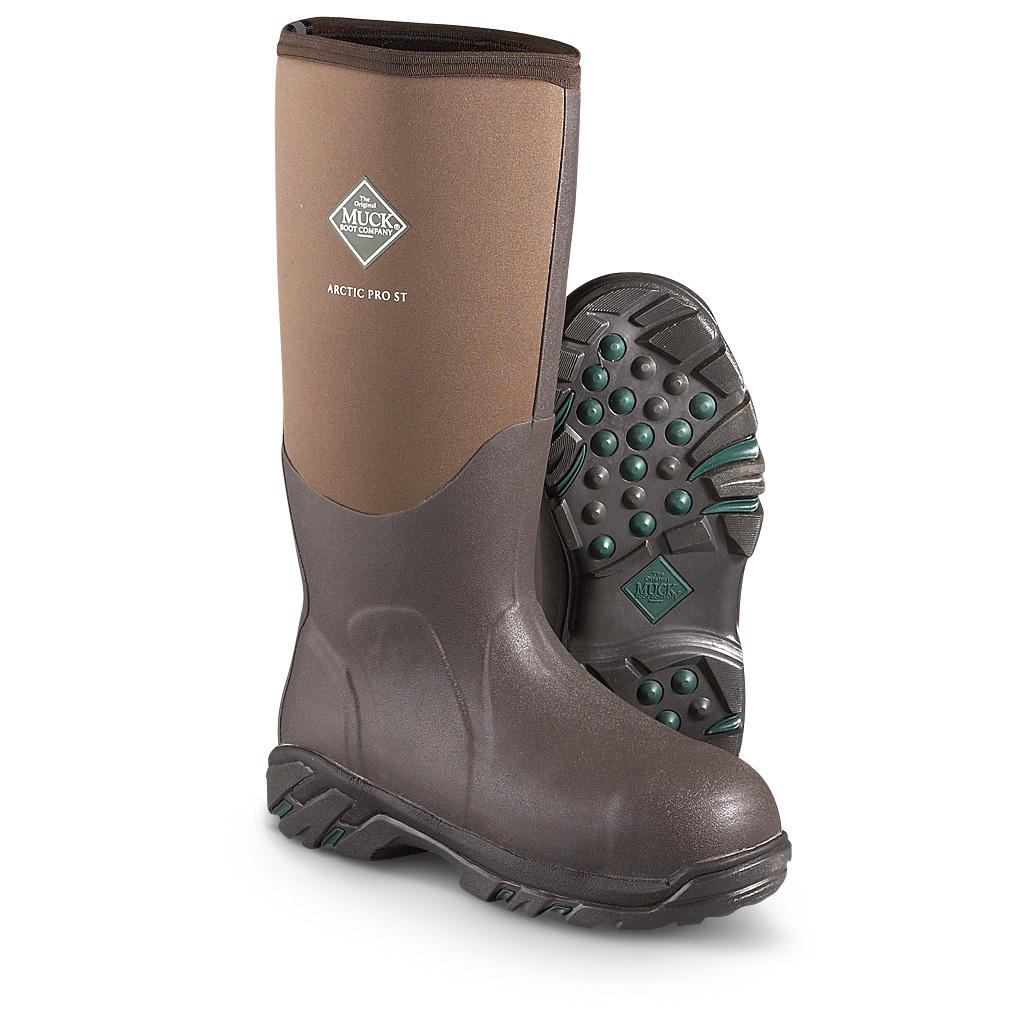 4652f4fd4bc Men s Muck Boots 17 inch Arctic Pro Steel Toe Waterproof ... - Thrill On