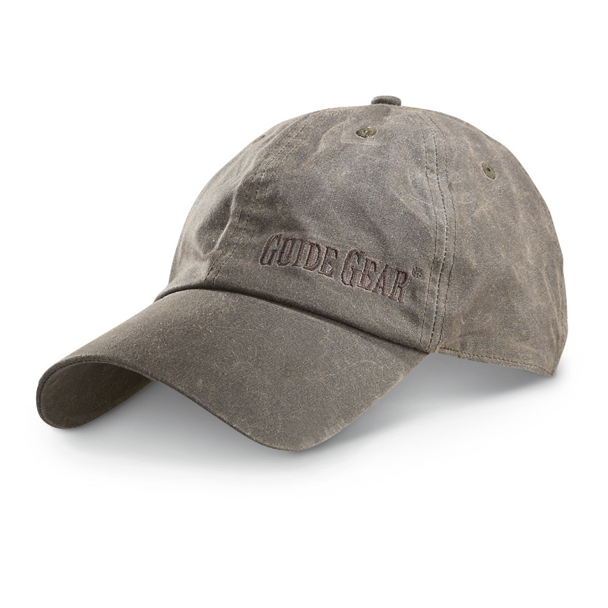 Guide Gear Waxed Cotton Baseball Cap Brown -  19.99 - Thrill On 3a0fd849f7b