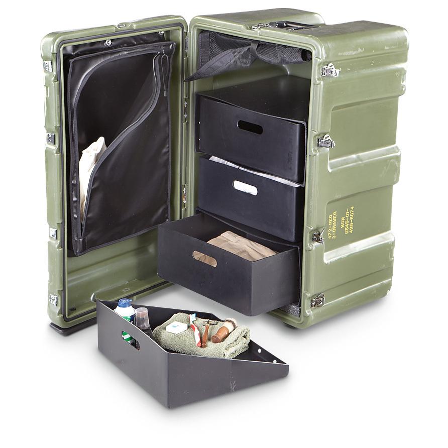 New U S Military Surplus Hardigg Case Olive Drab 199