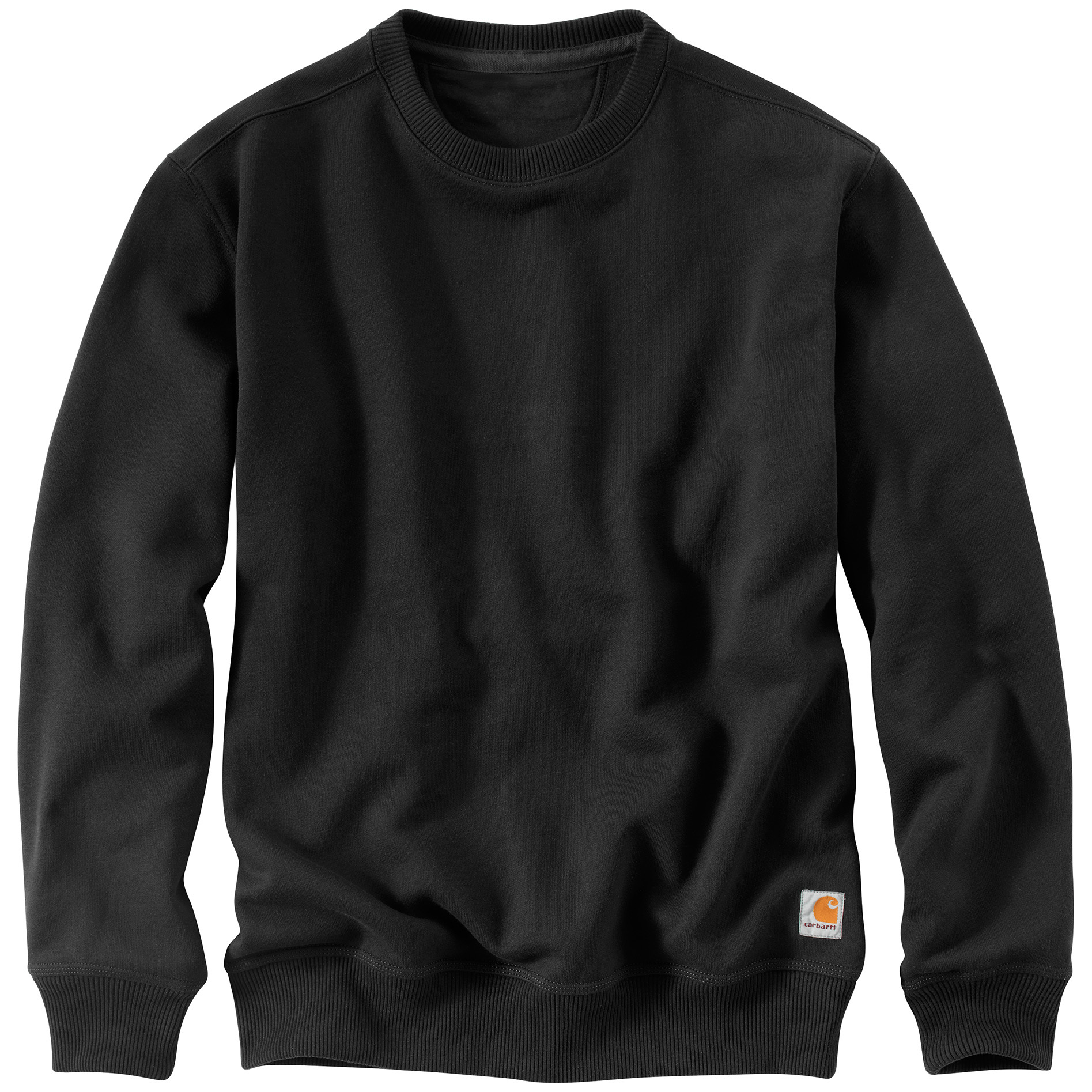 Carhartt Rain Defender Paxton Heavyweight Crewneck Sweatshirt. Turns cold and wet into warm and dry. Carhartt keeps you comfortable. Their Paxton Heavyweight Crewneck Sweatshirt is given a weather-resistant boost by way of its Rain Defender durable water-repellent finish, while the 13-oz. 80/20 cotton / polyester blend holds up its end in the warmth department.More:13-oz., 80/20 cotton / polyester blend with Rain Defender durable water-repellent finish Stretchable, spandex reinforced rib knit cuffs and waistband Carhartt strong triple-stitched main seams Machine wash / dry. Imported. State Size, as available in the Shopping Cart. - $39.99